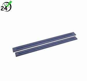 Gumowe listwy zbierające 790 mm, niebieskie, 2 sztuki