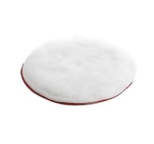Bardzo miękki pad tarczowy o średnicy 170 mm, biały